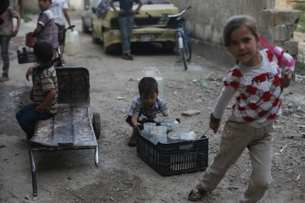 'Simple act of playing represents grave danger for children in Syria' – UNICEF